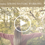 Spring nature working